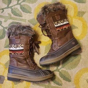 Northside winter faux fur boots